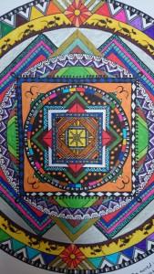 Mandala por Saida y Jasus, Granada 2014