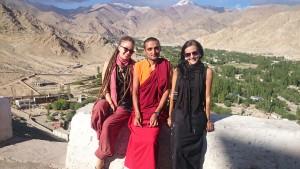 2015 Ladak. S našim přítelem mnichem Monlamem.