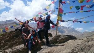 2015 Ladak. Internacionální výlet do Lamajuru.