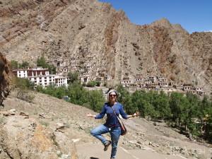 2015 Ladak. Na výletě v Hemisu, známém buddhistickém klášteře.