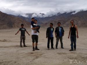 2015 Ladak. Pouštní charakter Ladacké přírody lze na základě této fotky popřít jen stěží. :)