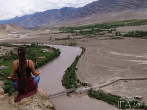 2015 Ladak. Oblast Stakny, cetrální Ladak.