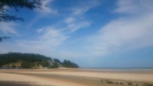 2017 Malajsie, Cherating. Nádherná a klidná vesnička na východním pobřeží pevninské Malajsie.